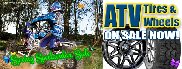 ATV Tires & Wheels on Sale Now!