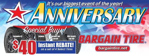 Welcome to Bargain Tire