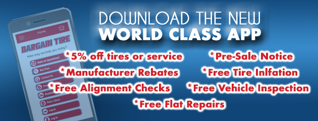 Download our NEW World Class APP Today!